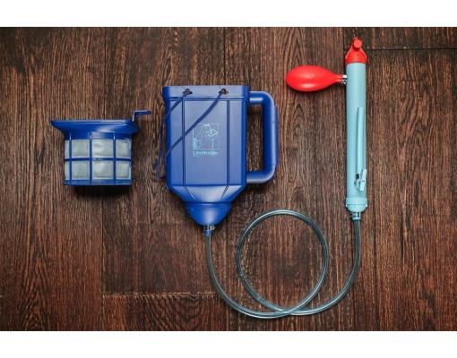 Filtru de apa portabil LifeStraw Family Blue