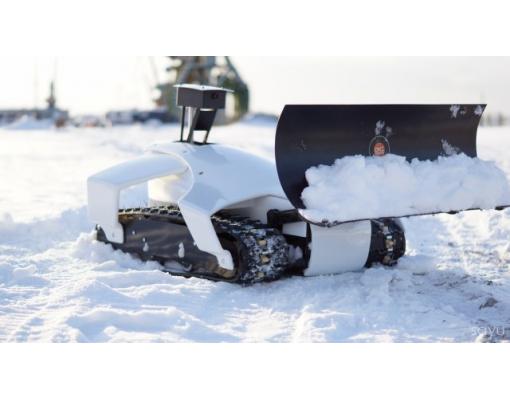 Robot pentru curatatea zapezii OMIPlow